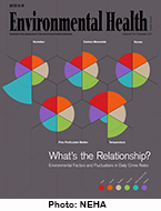 Cover image of the December 2017 Journal of Environmental Health
