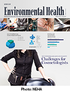 Cover photo of the May issue of the Journal of Environmental Health