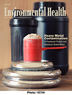 Cover image of the November 2017 issue of the Journal of Environmental Health