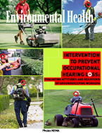 Cover image of the October 2017 issue of the Journal of Environmental Health