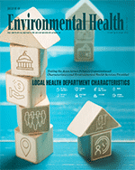 Cover image of the April 2018 Journal of Environmental Health