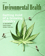 Cover image of the March 2018 Journal of Environmental Health