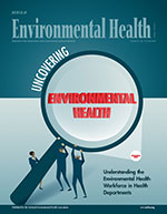 UNCOVER EH Cover of June Journal of Environmental Health