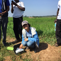 Alice Wang, PhD (EIS '15) in Tanzania