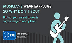 Protect your ears.
