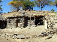A home in the rural area of Tigray