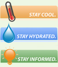 Stay Cool. Stay Hydrated. Stay Informed.