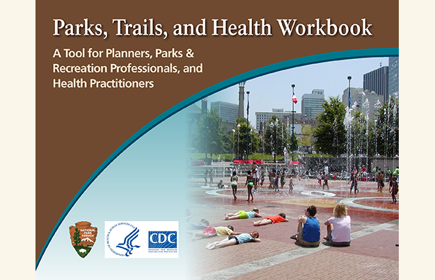 Parks and Trails Health Workbook cover