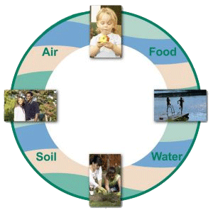 CDC's Air,Food,Soil,Water