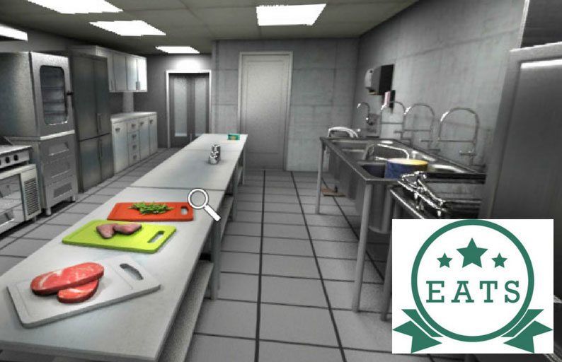 image of an industrial kitchen for EATS