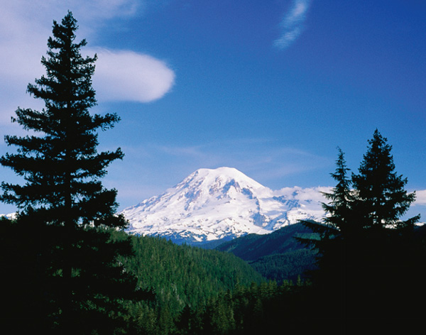 Photo of Mount Ranier