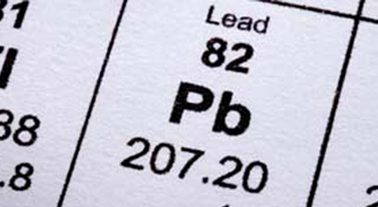 Lead Chemical Element 82 Pb