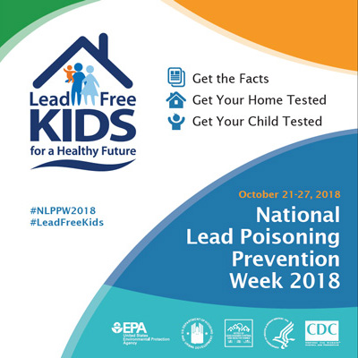 National Lead Poisoning Prevention Week 2018