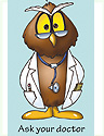 Dr. Hoot N. Owl Bookmark