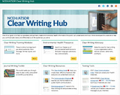 nceh/atsdr Clear Writing Hub