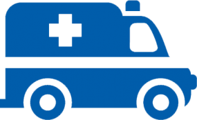 vector graphic of an ambulance