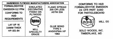 Figure 5.4. Wood Products Label