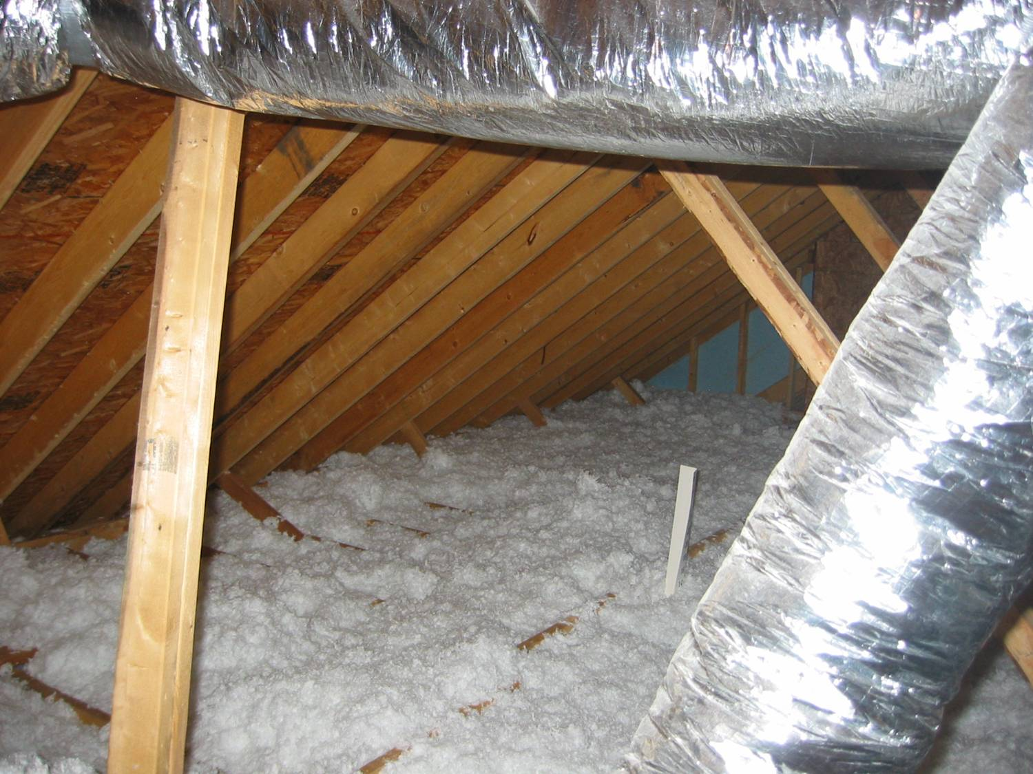 Figure 7.2. Blown Attic Insulation