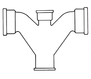 Figure 9.16. Common Y-trap