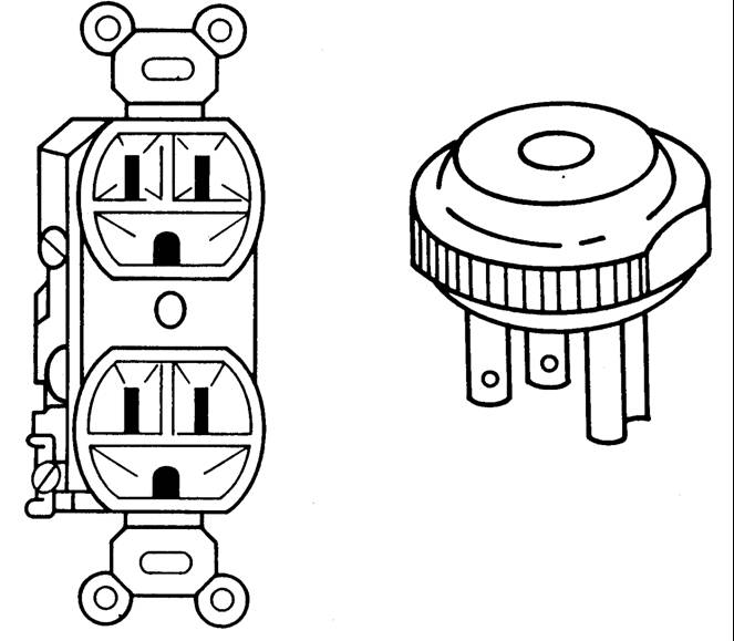 Figure 11.19. Appliance Ground and Grounded Plug
