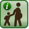 "Illustration of a child with their pregnant mother"" image_alt=""Illustration of a child with their pregnant mother"