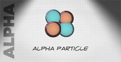 illustration of alpha particle