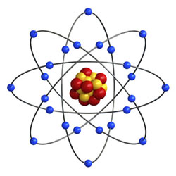 Illustration of atom