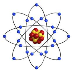 Illustration of atom