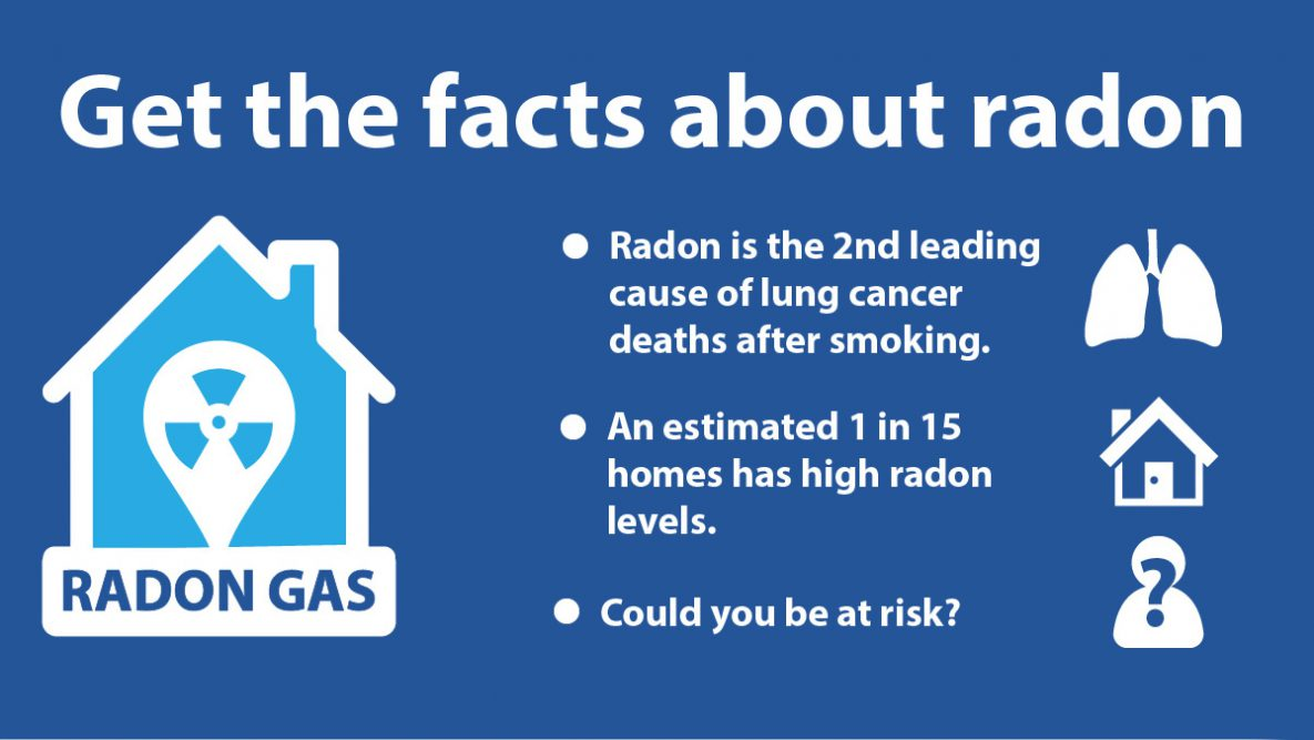 Are You At Risk From Radon? Radon Awareness Week January 25-29, 2020