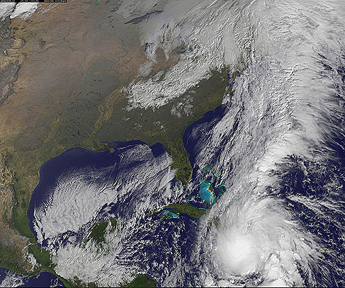 Hurricane Tomas caused death and destruction in the Caribbean in 2010. (Courtesy of NASA)