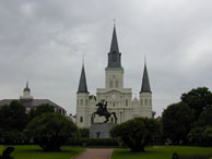 Jackson Square, New Orleans, Louisiana.