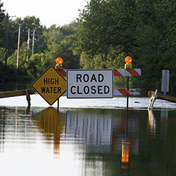 Learn how to stay safe during and after a flood.