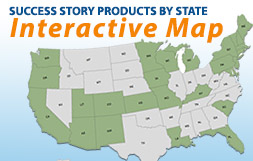Success story products by state - Interactive Map