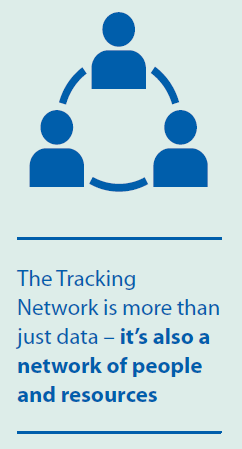 The Tracking Network is more than just data - it's also a network of people and resources