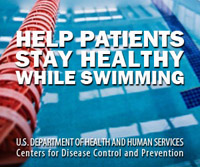 Ad for Medscape: Help Patients Stay Healthy While Swimming.