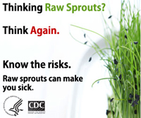 Ad for Medscape: Thinking Raw Sprouts? Think Again.