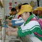 Photo: China School Children washing hands