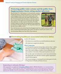 NCEZID Accomplishments 2013: Protecting people from brain-eating ameba (page 2)