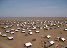 Kakuma refugee camp in Kenya.