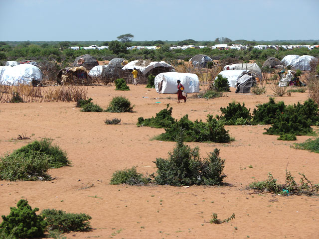 Dadaab Refugee Camp in the North Eastern Provice of Kenya.