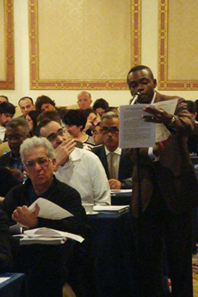 Participants attending the Panel Physician Training Summit in Istanbul