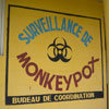 Sign for monkeypox surveillance in DRC