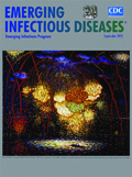 Emerging Infectious Disease Journal - September 2015 cover