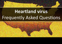 U.S. Map with Heartland virus title