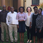 Some of the Kenyan epidemiologists in a Field Epidemiology and Laboratory Training Program