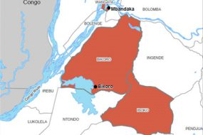 cropped map of 2018 Democratic Republic of the Congo Ebola Outbreak