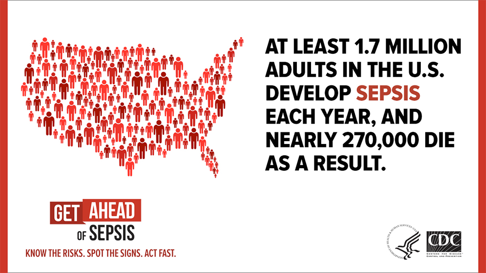 Get Ahead of Sepsis banner