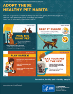 Thumbnail image of Adopt These Healthy Pet Habits poster