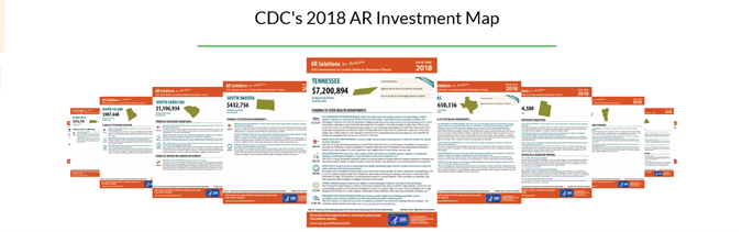 CDC's 2018 AR Investment Map