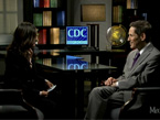 Image from the Medscape video: Antibiotics, Resistance, and Learning From Ebola, featuring an interview With CDC Director Tom Frieden and Dr. Hansa Bhargava.